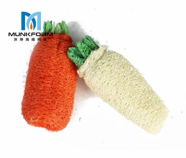 Pet grinding toys loofah sponge