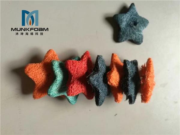 pet oral cleaning loofah sponge