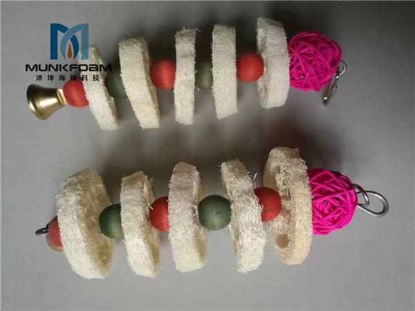pet teeth exercise loofah sponge