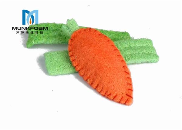 pet crude fibre loofah sponge