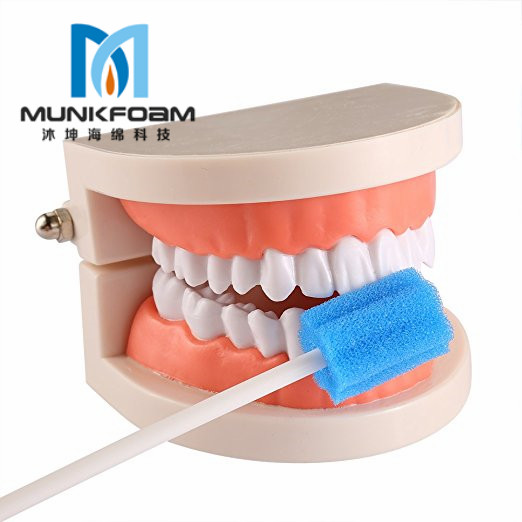 oral sponge toothbrush