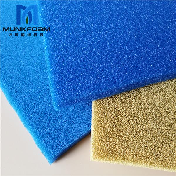 silicone filter foam