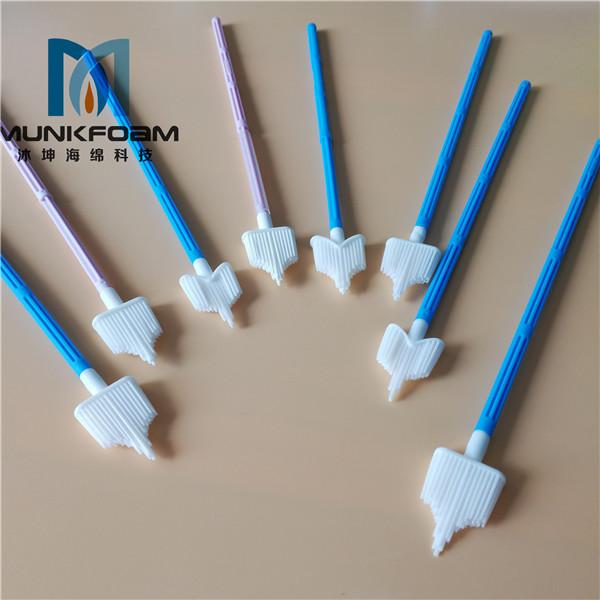 gynecological sampling brush