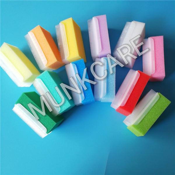 sensory sponge brushes